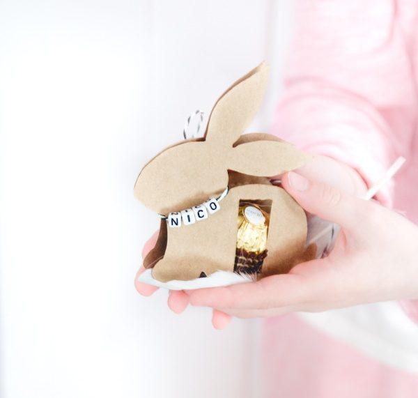 Anleitung für den Osterhasen mit Ferrero Rocher (inklusive Gratis-Vorlage) - DIY zu Ostern by titatoni.de