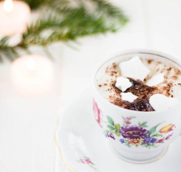 Selbstgemachte Marshmallows zu Weihnachten