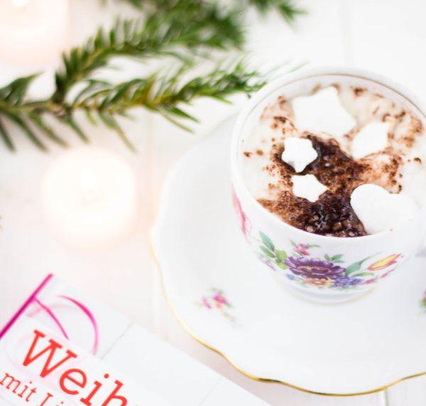 Heisse Schoko mit DIY Marshmallows aus Weihnachten mit Liebe handgemacht