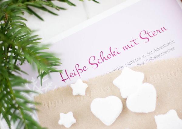 Heisse Schoko aus Weihnachten mit Liebe handgemacht