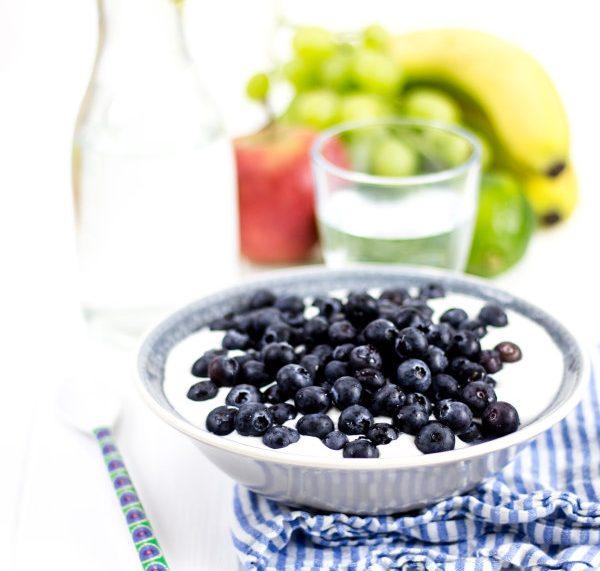 Gesunde Ernährung - ich liebe Blaubeeren / Heidelbeeren!