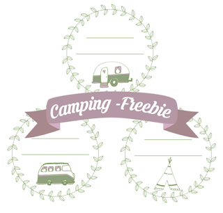 Kostenlose Camping-Etiketten zum Herunterladen und Ausdrucken für Marmelade und Co