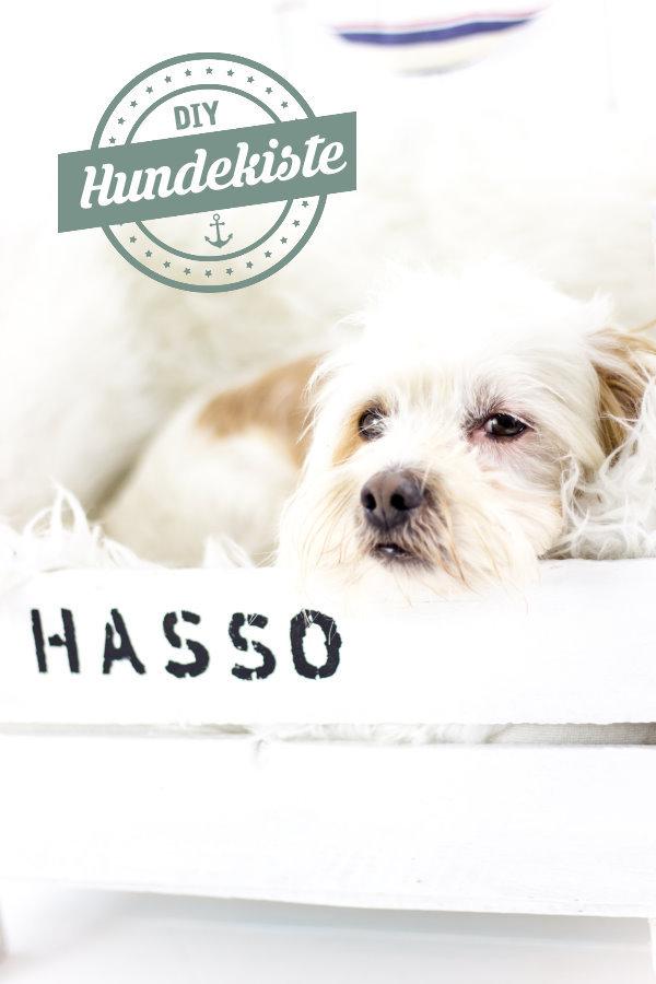 DIY Hundebett - die Hassokiste {Upcycling} • Titatoni
