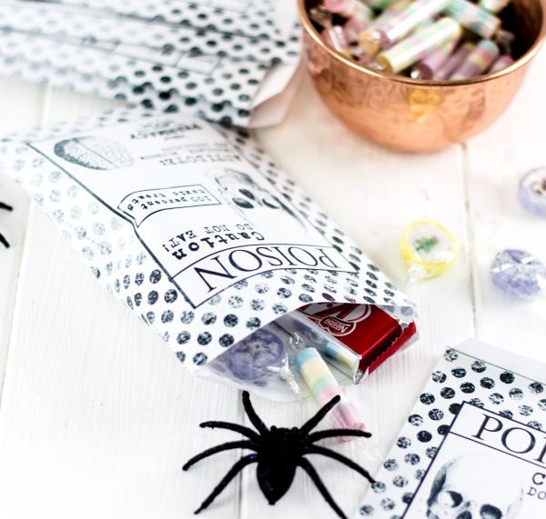 Happy Halloween - DIY treat bags