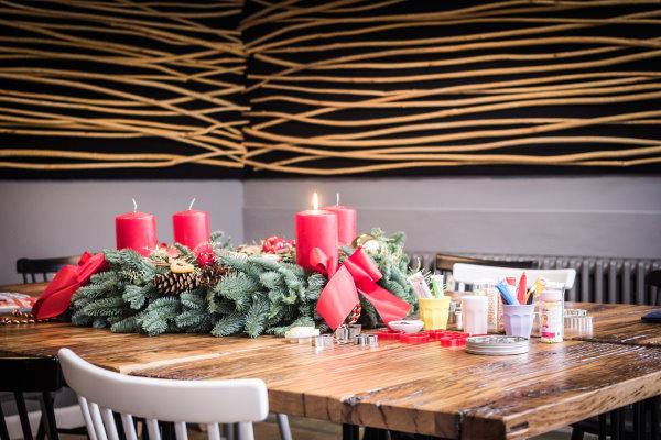 Weihnachtsbäckerei in der Foodio Kochwerkstatt