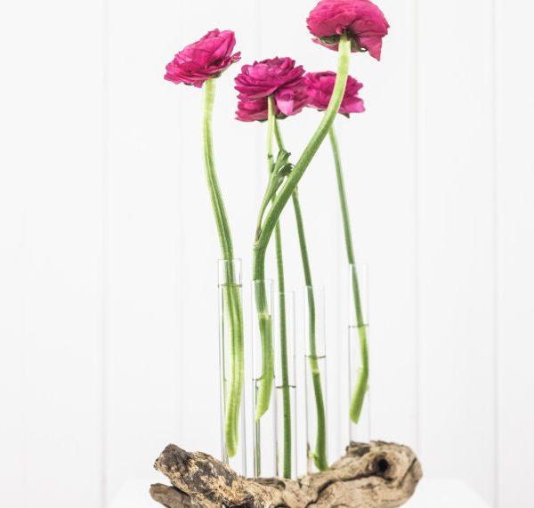 Do it yourself Vase aus Treibholz