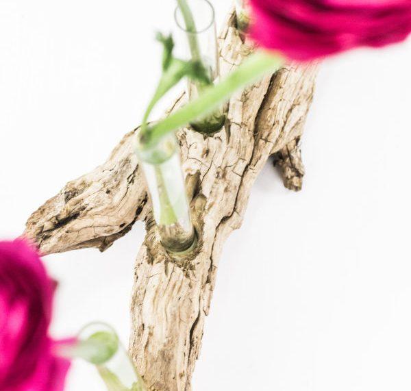 Basteln mit Treibholz: DIY Vase