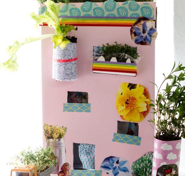 Das Gartenhaus für Kinder: Basteln mit Pappe und Toilettenpapierrollen