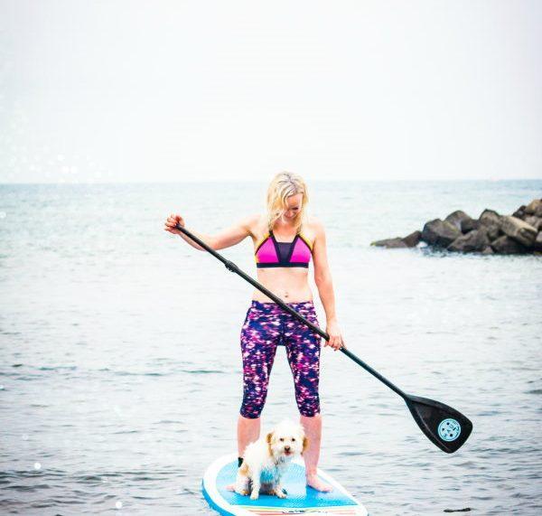 Stand Up Paddling mit Hund - SUP