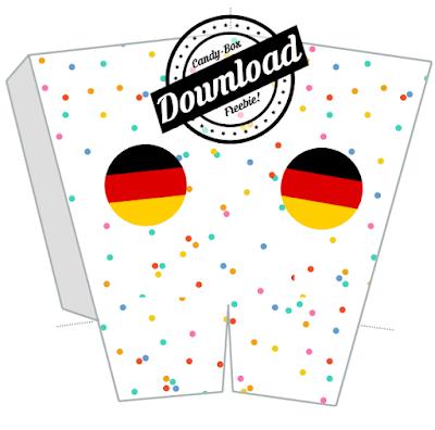 Gratis Download: Popcornbox / Candybox zum Ausdrucken und Selberbasteln