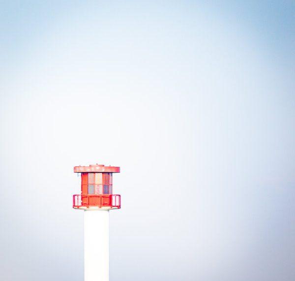 Leuchtturm in Heidkate an der Ostsee