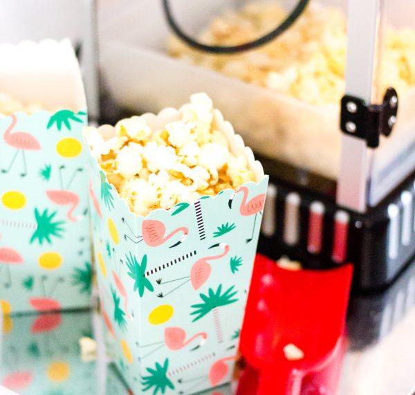 frisches Popcorn selber machen