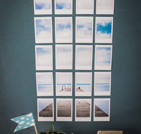 Wandbild zum Entspannen mit der Fujifilm instax