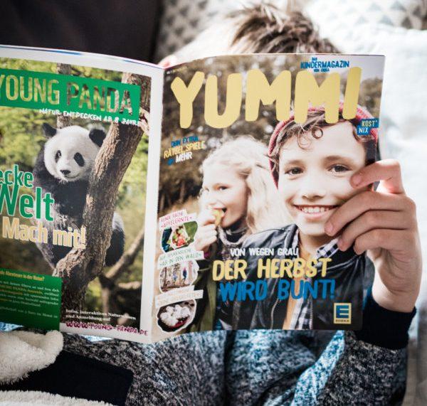 Yummi, das Kindermagazin von Edeka