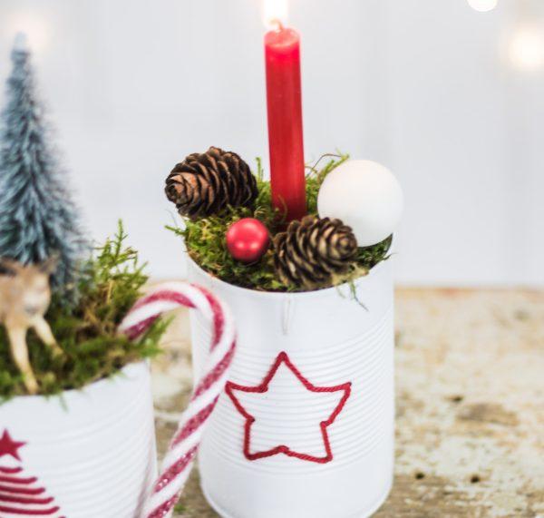 Advent, Advent: DIY Deko aus Dosen | by titatoni