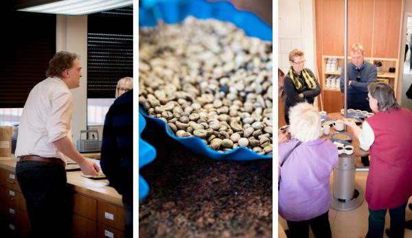 Kaffee-Verkostung bei tchibo | titatoni - Renate Bretzke