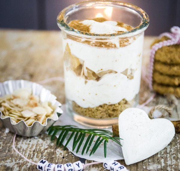 Veganes Rezept für einen Nachtisch zu Wiehnachten