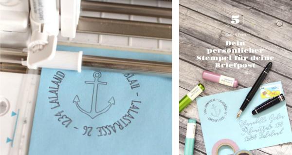Happy Serendipity Digital Design Shop - 5 Plotterprojekte für Anfänger - Anleitungen für deinen schneideplotter