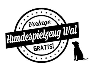 Download Gratis-Schnittmuster: DIY Hundespielzeug süsser Wal by http://titatoni.blogspot.de/