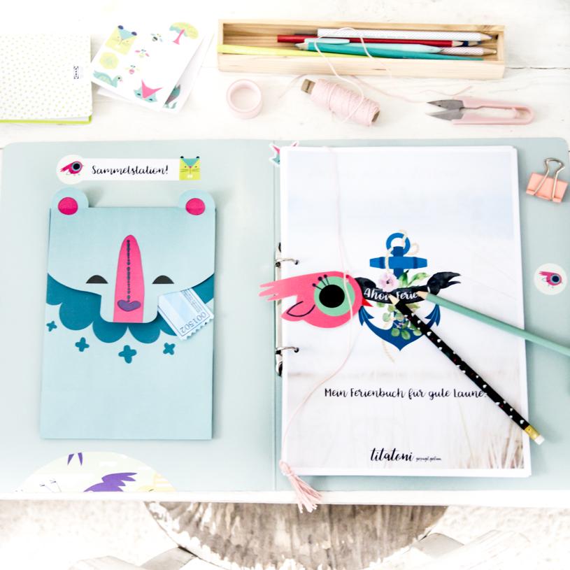Kostenloses Ferienbuch für Kinder - Kreativität fördern. titatoni.de