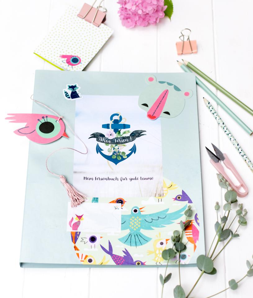 Gratis Ferienbuch für Kinder zum Ausfüllen - Download und Ausdrucken. titatoni.de