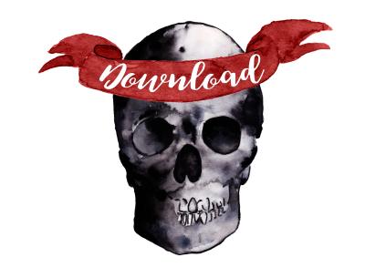 Kostenloser Download: DIY Halloween-Beutel fürs Süßes zum Ausdrucken. titatoni.de