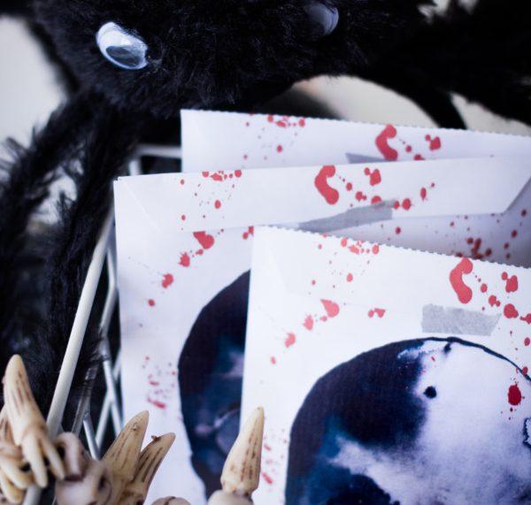 DIY Halloween-Tüten gratis zum Ausdrucken - Gruseln erlaubt! titatoni.de