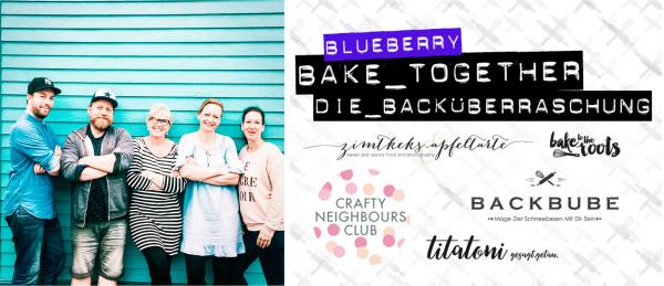 bake together - die Backüberraschung. Blaubeer-Kuchen zum Frühstück. Gesund, glutenfrei und lecker! titatoni.de
