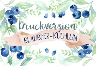 Druckversion - Rezept für leckere, glutenfreie Muffins zum Frühstück oder Brunch mit leckeren Blaubeeren, ohne Zucker und Weizenmehl. titatoni.de