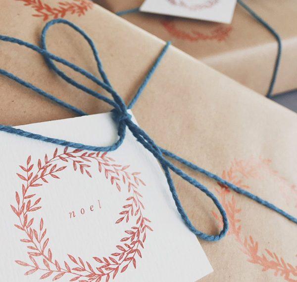 Geschenkanhänger zu Weihnachten gratis zum Ausdrucken von Gooseberry Moon
