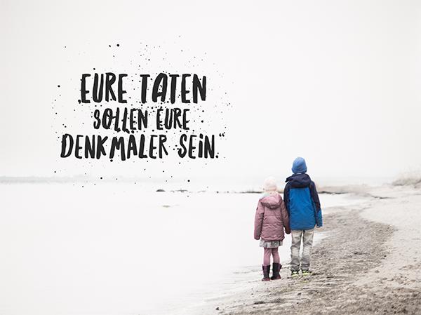 Eure Taten sollen eure Denkmäler sein. Kinotipp Wunder. titatoni.de