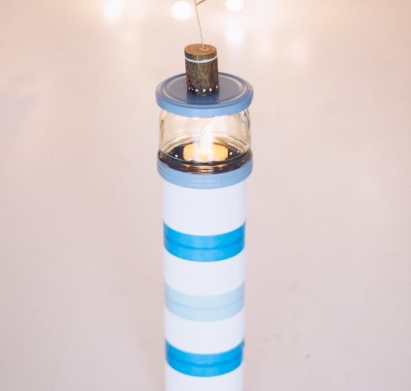 Upcycling DIY Nachtlicht aus Pringles Dose. titatoni.de