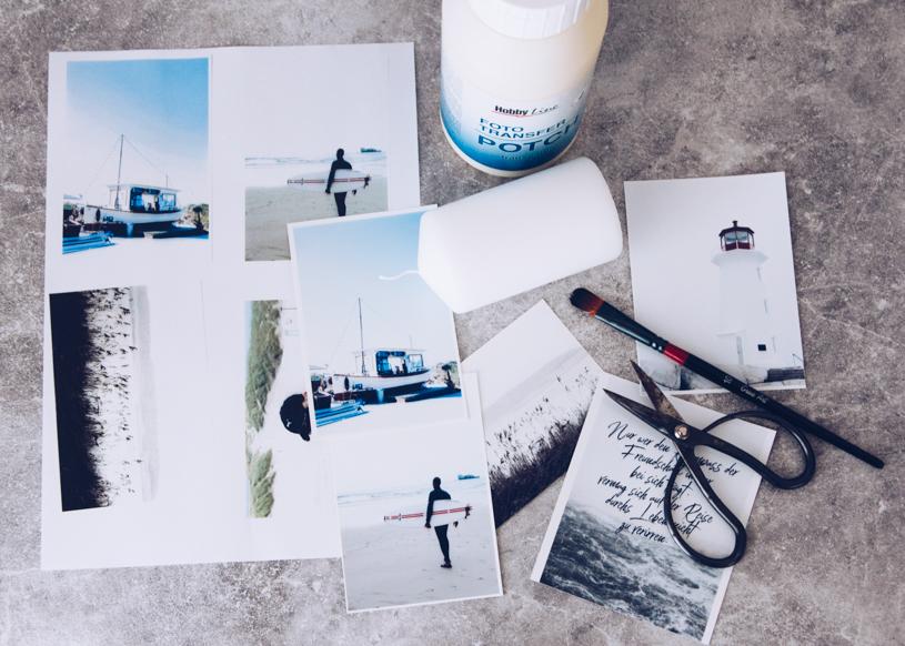 DIY Geschenk zum Geburtstag oder Grillparty - Fotokerze selber machen. titatoni.de