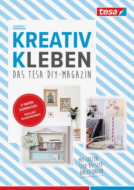 ePaper: Kreativ kleben - das Tesa DIY-Magazin. titatoni.de