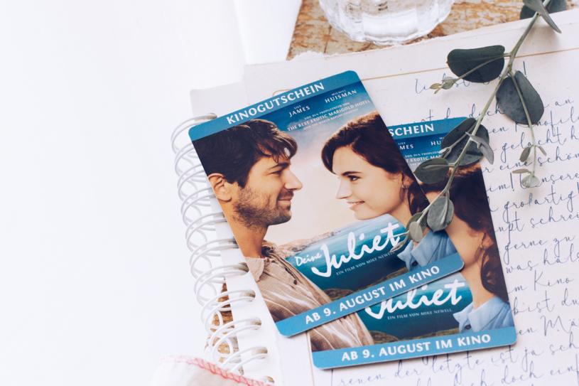 Gewinnspiel - Deine Juliet und kostenloses Briefpapier zum Ausdrucken. titatoni.de