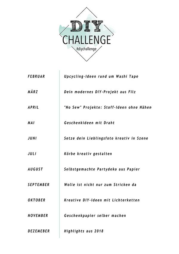 DIY Challenge - 5 Blogs 1000 Ideen - Inspirationen zum Selbermachen. titatoni.de