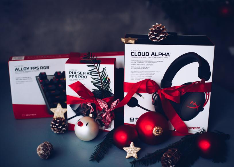 Gewinnspiel HyperX Gaming Bundle zu Weihnachten - titatoni.de
