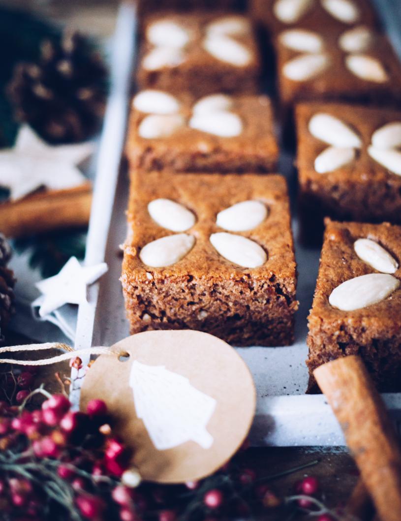 Backen an Weihnachten: Einfaches Rezept für saftige Honigkuchen mit Kaffee.. titatoni.de