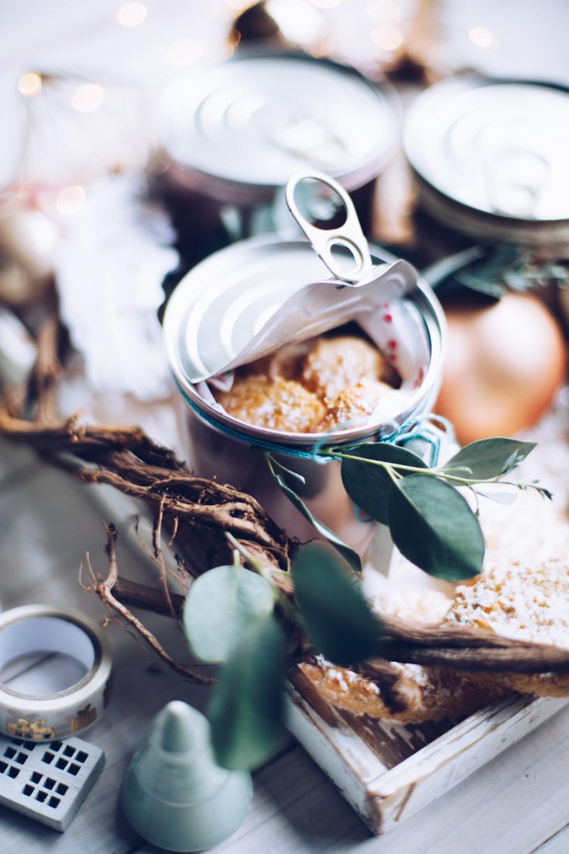 Plätzchen hübsch verschenken: Kekse aus der DIY Keksdose. DIY GEschenkverpackungtitatoni.de