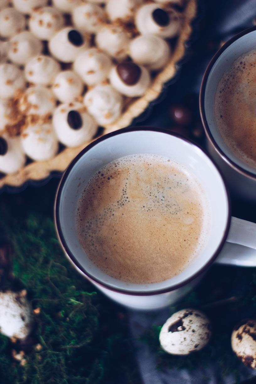 Rezept Kaffeetarte mit Schokoladen-Ganache. titatoni.de