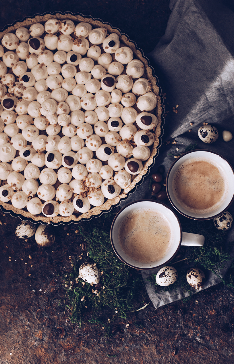 Rezept Schokoladen-Tarte mit Kaffee. titatoni.de