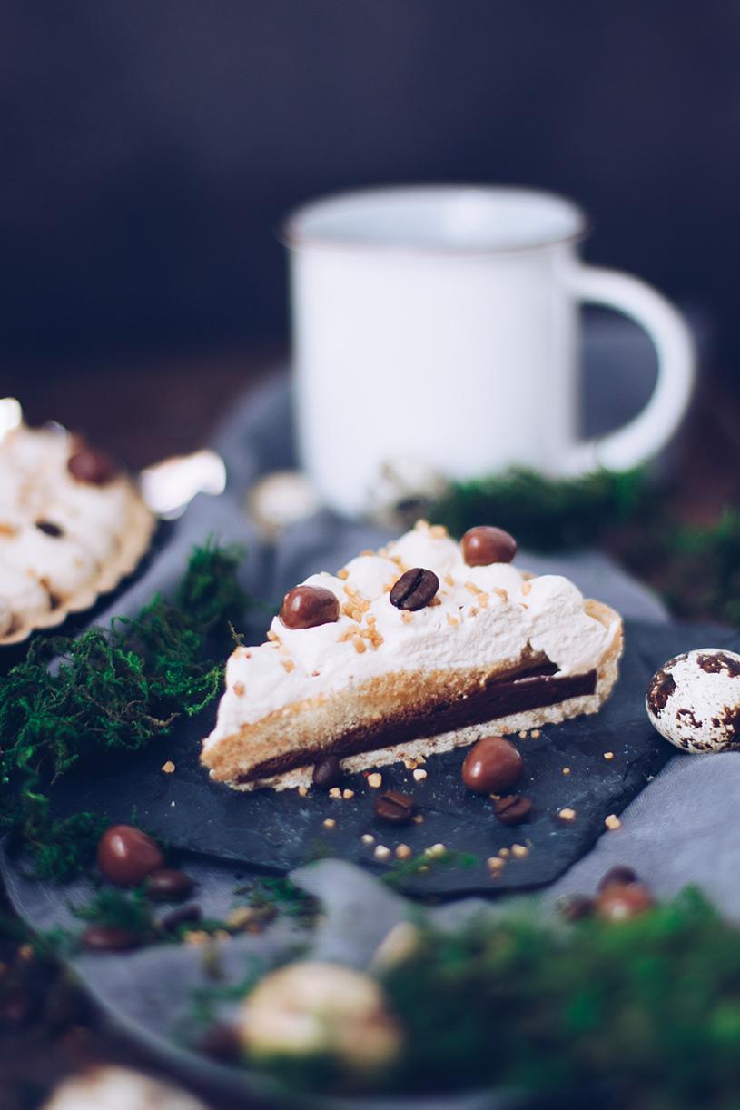 Rezept Torte: Tarte mit Kaffee und Schokolade zum Geburtstag oder Familienfest. titatoni.de