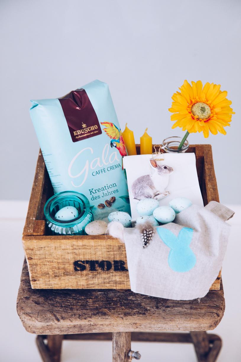 Carepaket zu Ostern: Beschenke deine Lieben mit einem schönen Kaffeepaket. titatoni.de