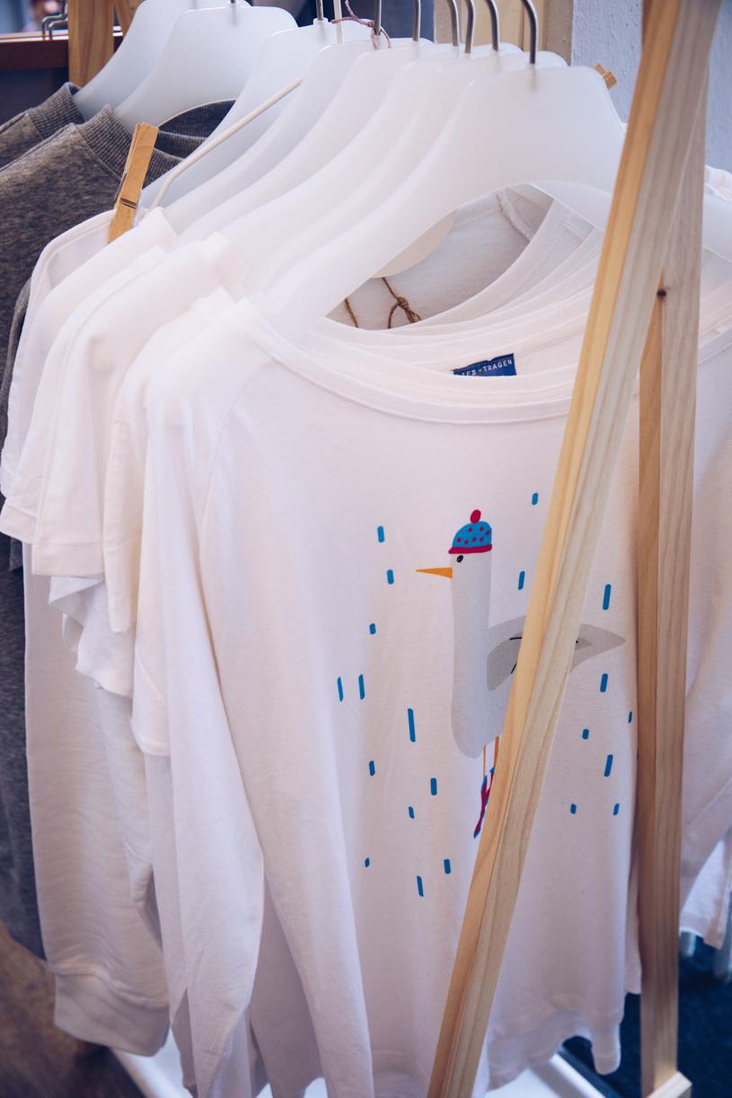 Coole Shirts im Quartier172 - der Laden für junges Design in der Holtenauer Straße Kiel