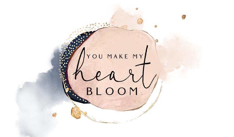 DIY Blumenvase: You make my heart bloom. Perfektes Geschenk zum Muttertag oder Geburtstag basteln. titatoni.de