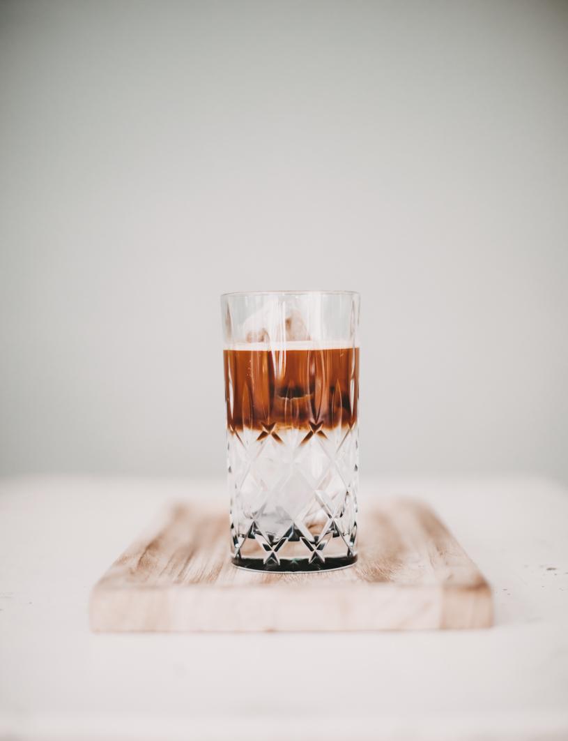 Rezept für Espresso-Tonic on Ice. titatoni.de