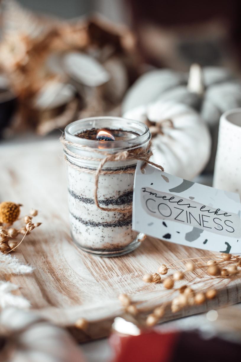 DIY Kaffee-Kerze. So duftet Gemütlichkeit. Duftkerze selber machen. titatoni.de