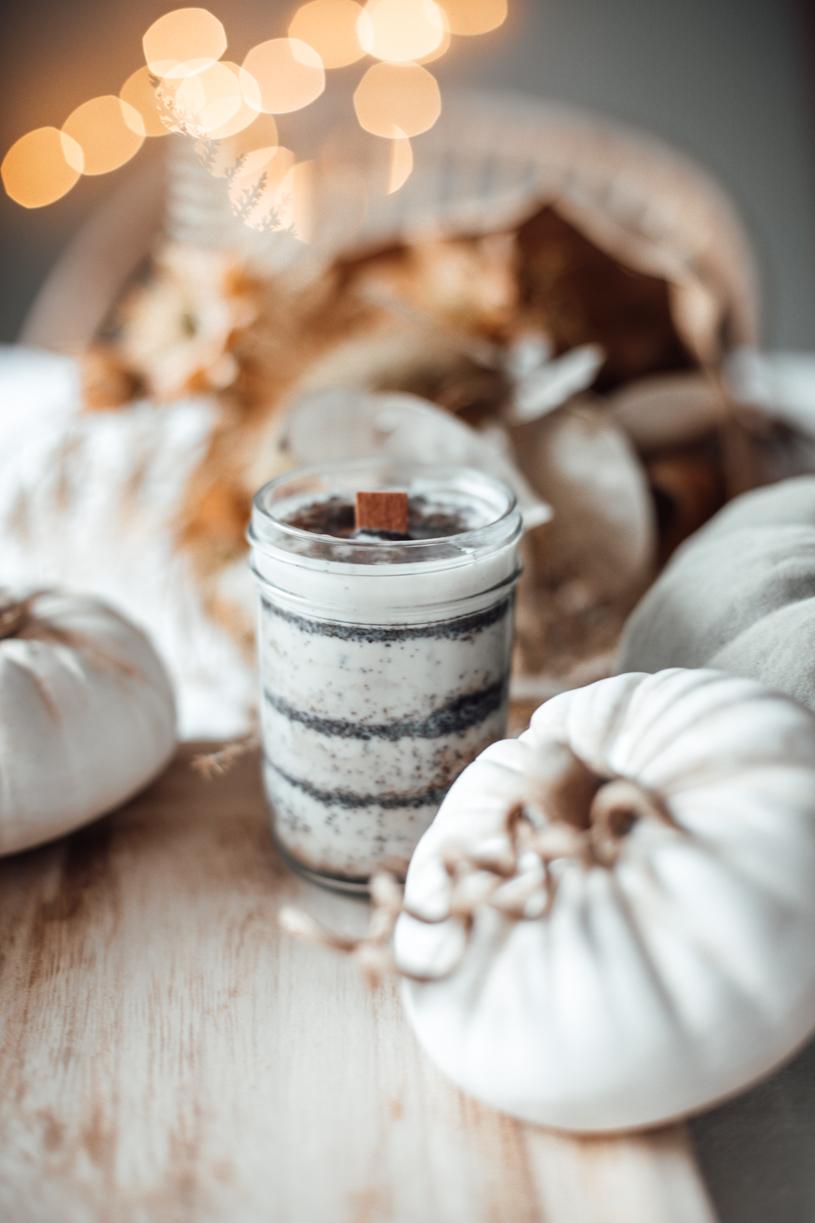 DIY Kaffee-Kerze. Duftkerze als Weihnachtsgeschenk selber machen. titatoni.de
