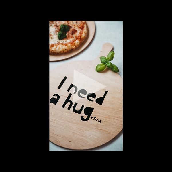 DIY Pizzabrett mit dem Brandmalkolben -  Instagram Reel. titatoni.de