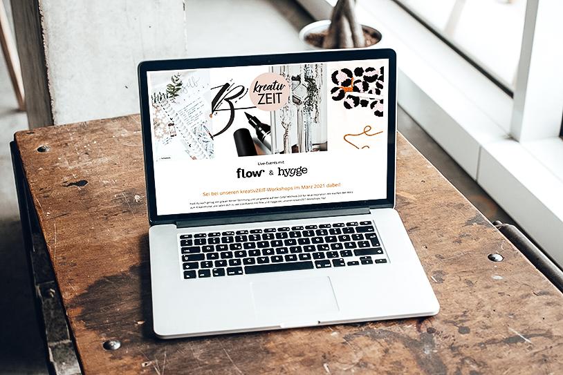 Online DIY Workshop: Punch Needle, Bullet Journaling, Brush-Lettering, Makramee. Digital gemeinsam kreativ sein. titatoni.de